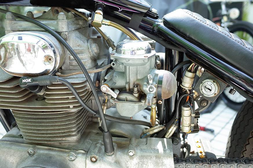 1972 HONDA CB350 チョッパー/ボバー/トライアンフ_画像8