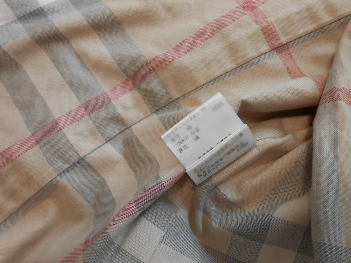 BURBERRY  LONDON  バーバリー ロンドン  トレンチコート  スプリングコート ベルト付き ノバチェック  サイズ 38 M~_画像9
