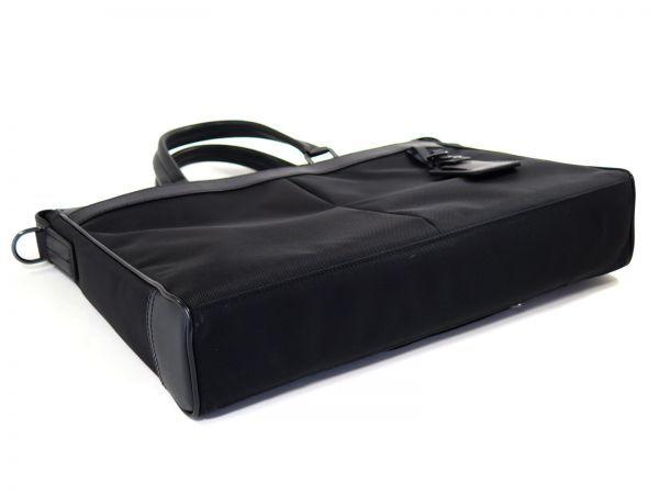 TUMI トゥミ 69785 Easton Slim Top Zip Brief カーボン×ナイロン ブリーフケース 516 黒 ブラック BLACK_画像8