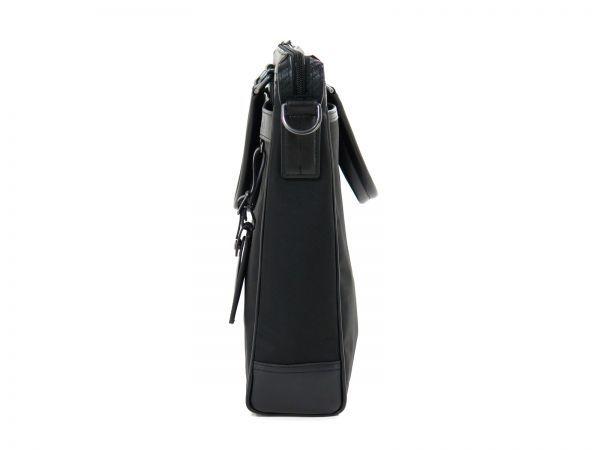 TUMI トゥミ 69785 Easton Slim Top Zip Brief カーボン×ナイロン ブリーフケース 516 黒 ブラック BLACK_画像5