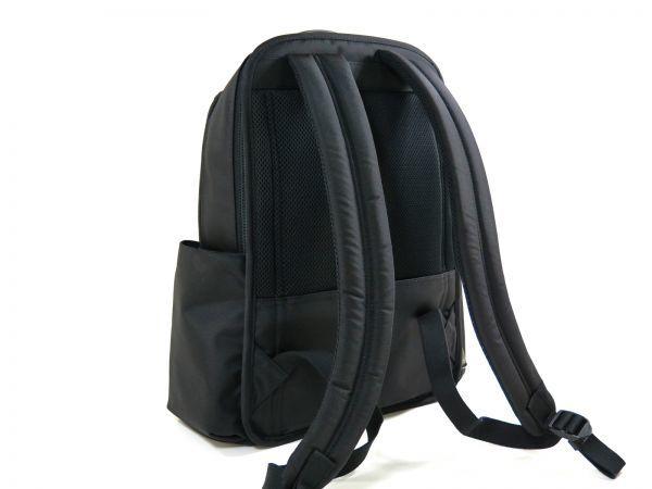 TUMI トゥミ 69787 カーボン×ナイロン Clayton Backpack ビジネス リュックサック バックパック PC収納可能 黒 ブラック BLACK / 513_画像5