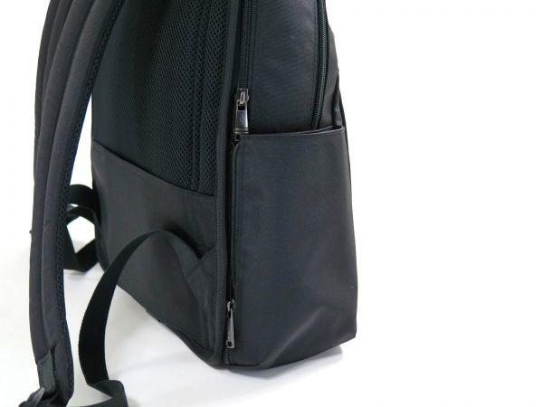 TUMI トゥミ 69787 カーボン×ナイロン Clayton Backpack ビジネス リュックサック バックパック PC収納可能 黒 ブラック BLACK / 513_画像6