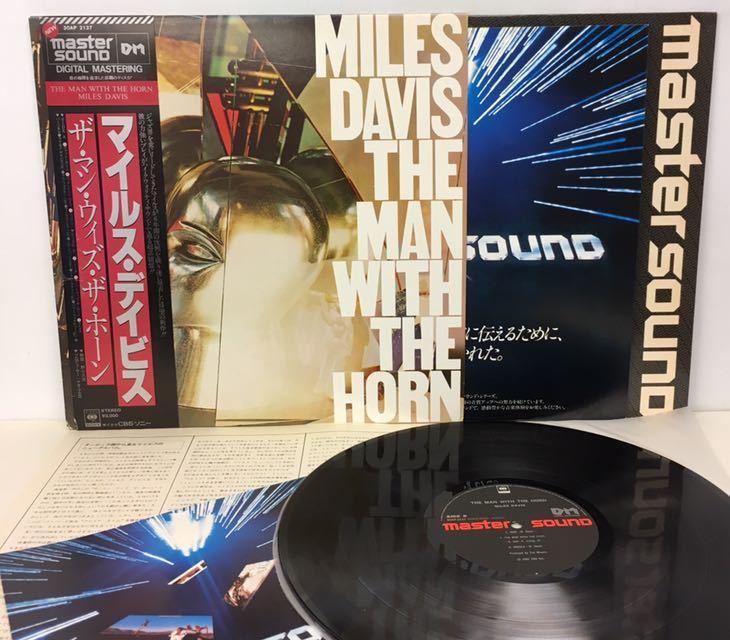 AUDIOPHILE●JAZZ/MILES DAVIS(TP)/ THE MAN WITH THE HORN (LP) 高音質盤 (n278)_画像2