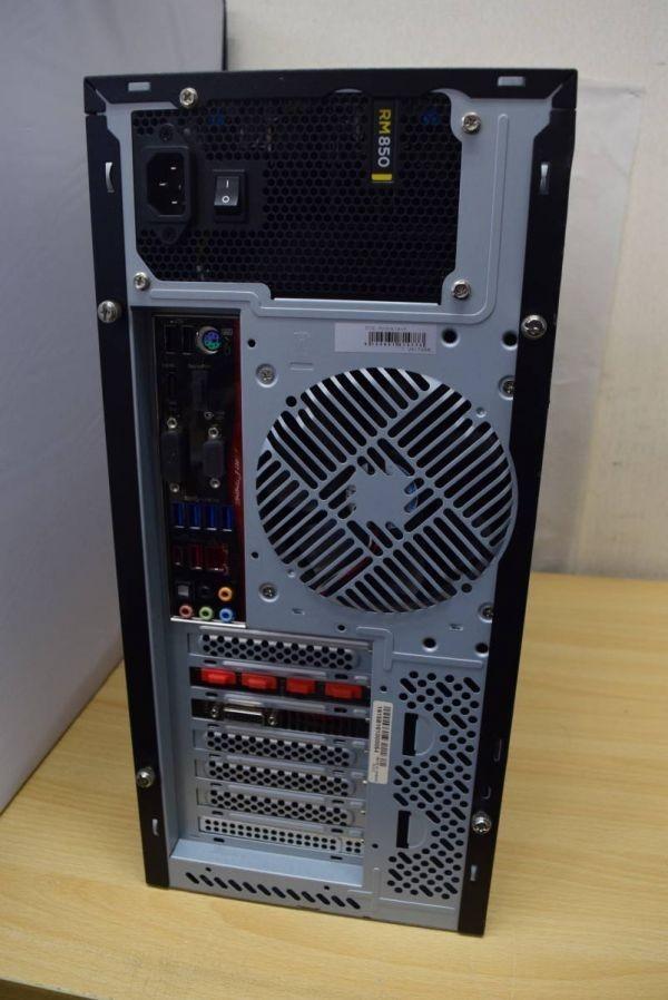 ★UNITCOM 自作パソコン Core i7-6700K 4.00Ghz 16G 新品 SSD 512G GTX 960 WIN 10★中古★2_画像3