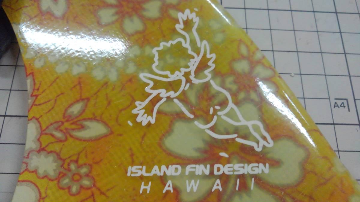 アイランドフィン シングルフィン ボックスフィン センターフィン ファイバーグラス製 FRP ハワイ ミッドレングス ミニロング_画像5