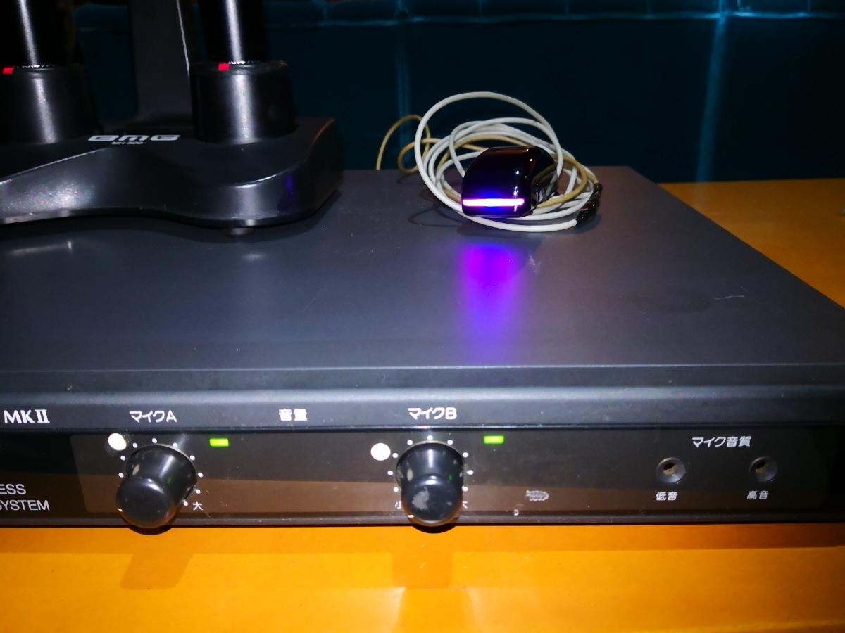 赤外線BMB-WT-5000MKIIレシーバーマイクセット.BMB-マイクWM-600..A.B_画像4