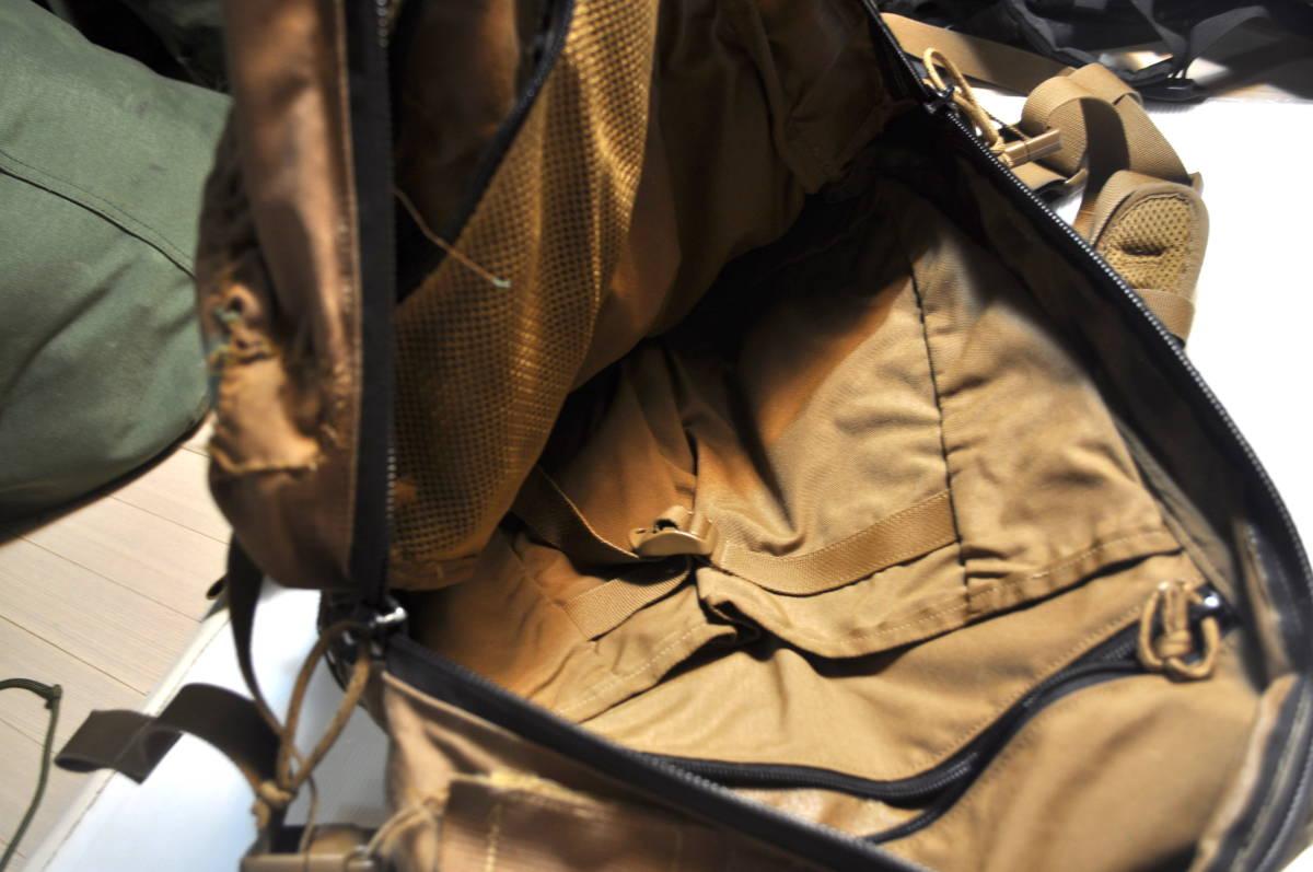 実物 米軍放出品 USMC 海兵隊 FILBE-ASSAULT-PACK コヨーテ アサルトパック / バッグ RECON MARSOC FSBE SEALS_画像8