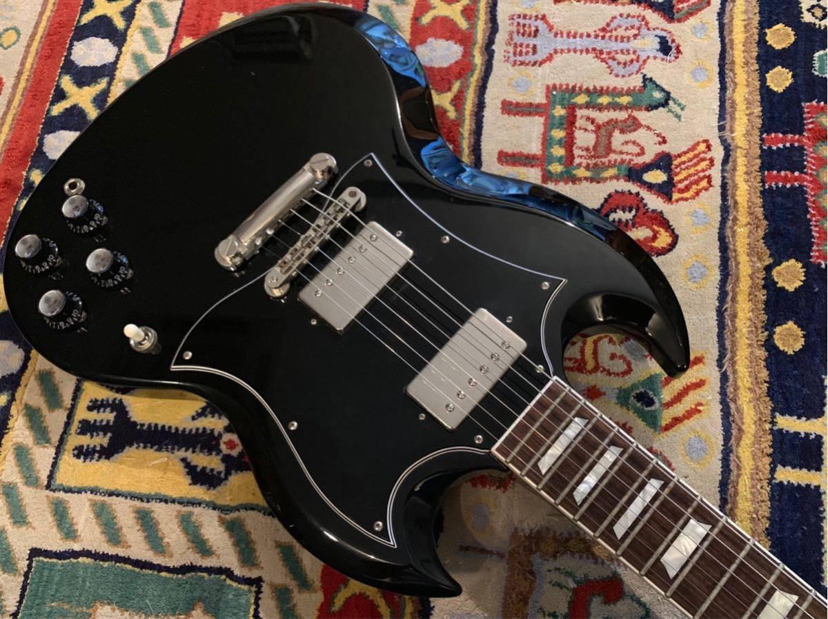 初期個体 良品 2010年製 Cool Z ZSG-1 CFS BK Gibson SG STANDARD ギブソン フジゲン製 日本製 _画像4