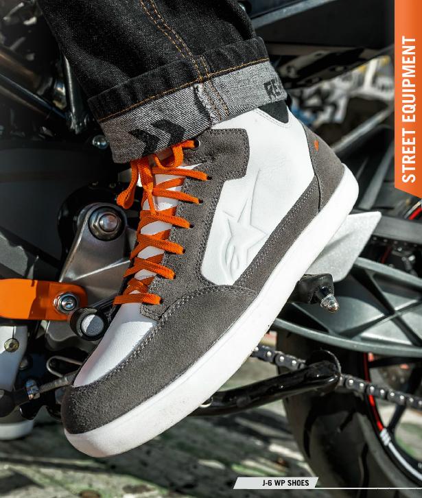 【KTM】KTM J-6 WP Shoe US9【新品】Alpinestars アルパインスターズ DUKE RC バイク オートバイ シューズ ウォータープルーフ 靴_画像3