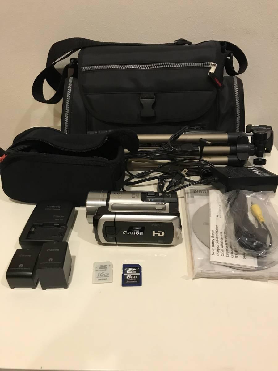 CANON キヤノン デジタルビデオカメラ iVIS HF11 [完動品] おまけ付き