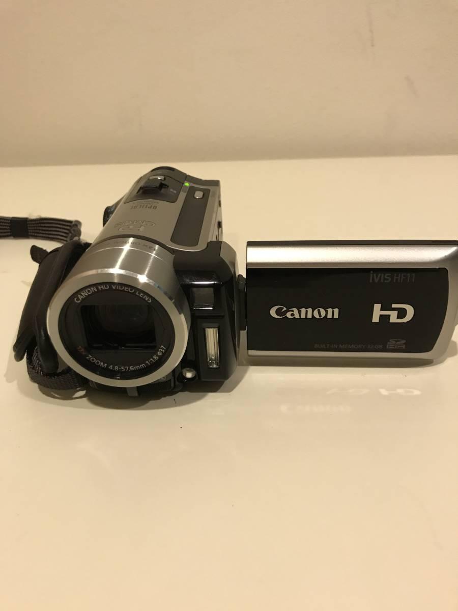 CANON キヤノン デジタルビデオカメラ iVIS HF11 [完動品] おまけ付き_画像3