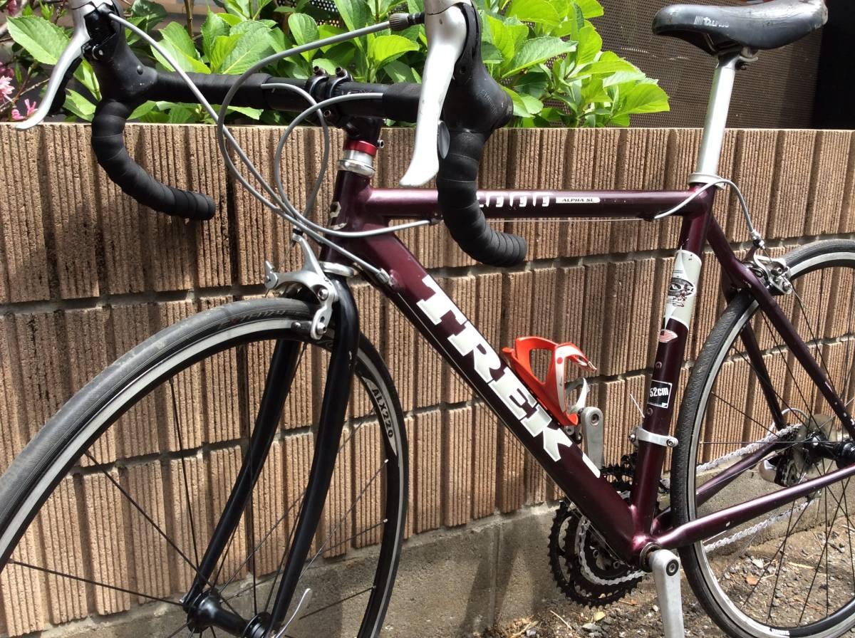 4-010 中古品 ロードバイク トレック ALPHA 2000 SL 700c 即決金額で発送料金無料。_画像9