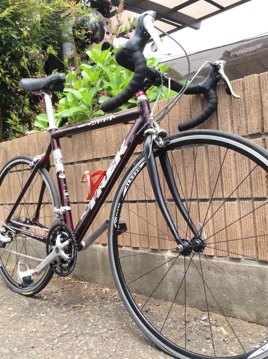4-010 中古品 ロードバイク トレック ALPHA 2000 SL 700c 即決金額で発送料金無料。_画像6