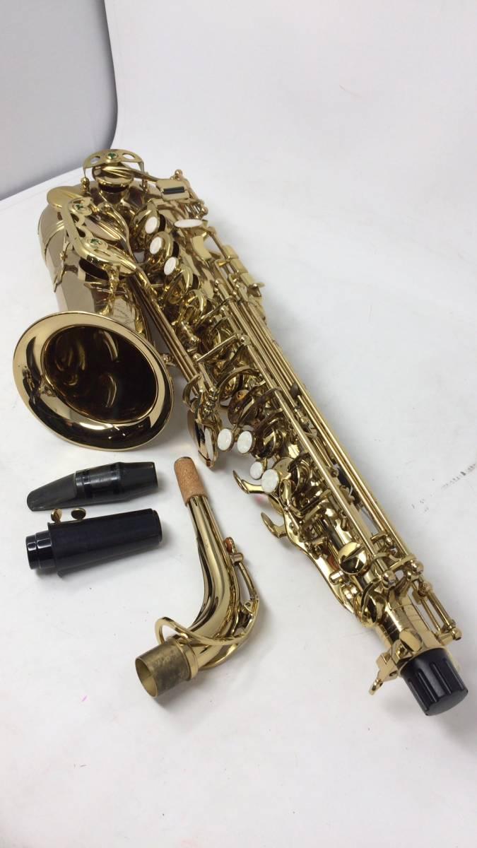 1円~★☆●希少品!!レア!!★美品 Maxtone マックストーン SX-56A アルトサックス 楽器 管楽器 専用ケース 保証書付属_画像3