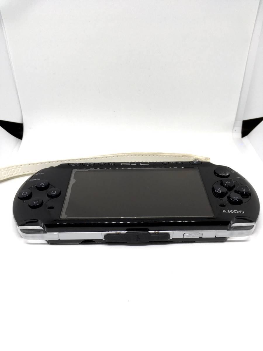 【 極 美品 】SONY PSP 3000 ピアノ ブラック 付属品完備 バッテリー メモリースティック付き 送料無料_画像4