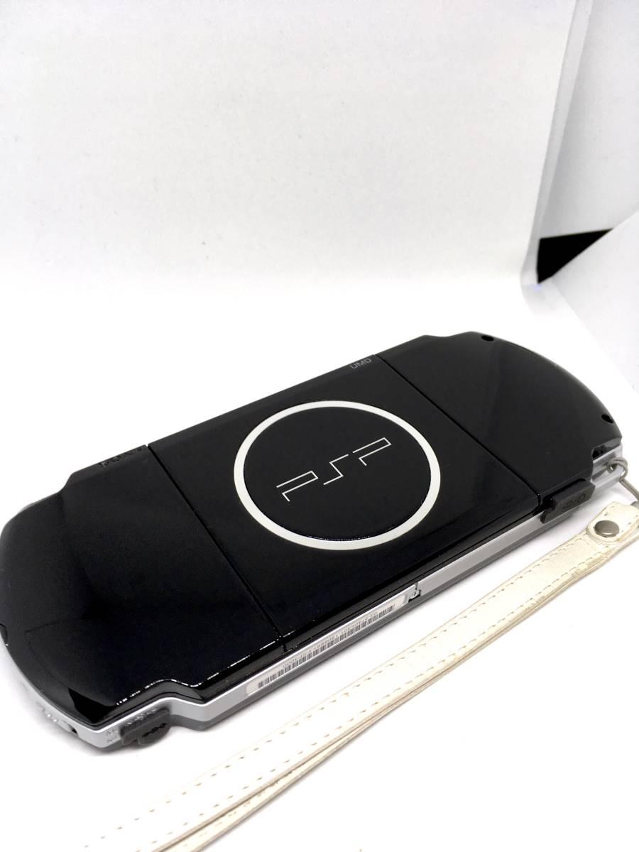 【 極 美品 】SONY PSP 3000 ピアノ ブラック 付属品完備 バッテリー メモリースティック付き 送料無料_画像5