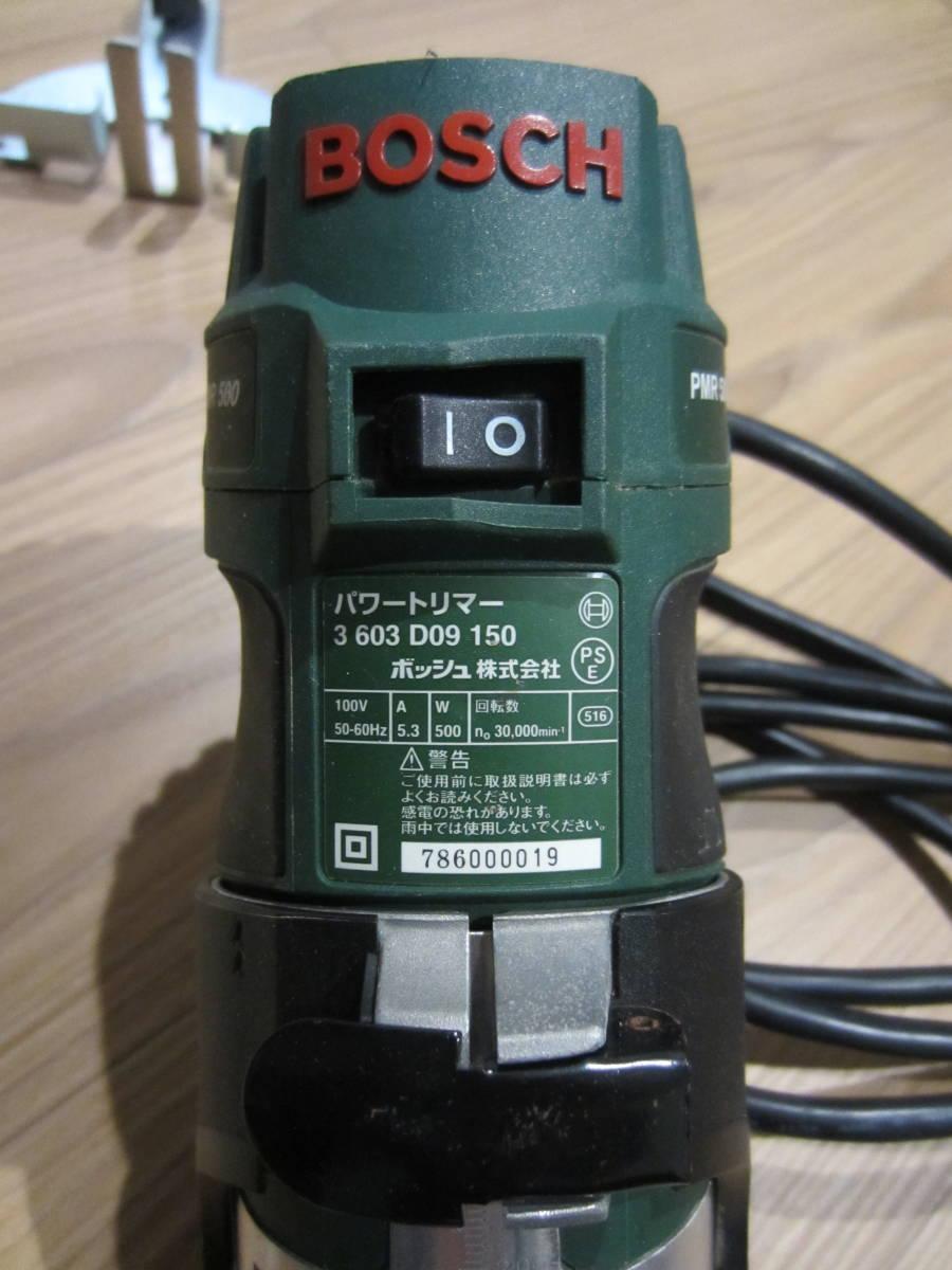 BOSCH パワートリマー PMR500_画像2
