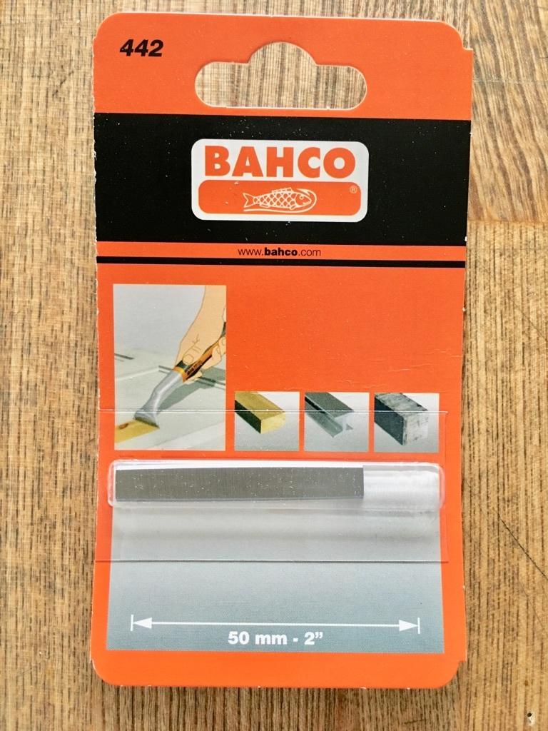 替刃 BAHCO サンドビック 超硬刃付スクレーパー 650用 #442_画像1