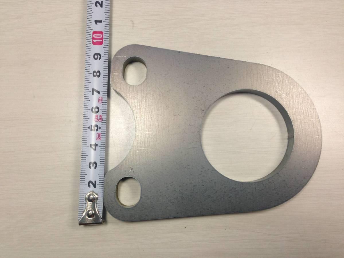 ジムニーなどに 牽引フック 板厚6mm 未塗装 曲げなし 送料無料 即発送致します。_画像3