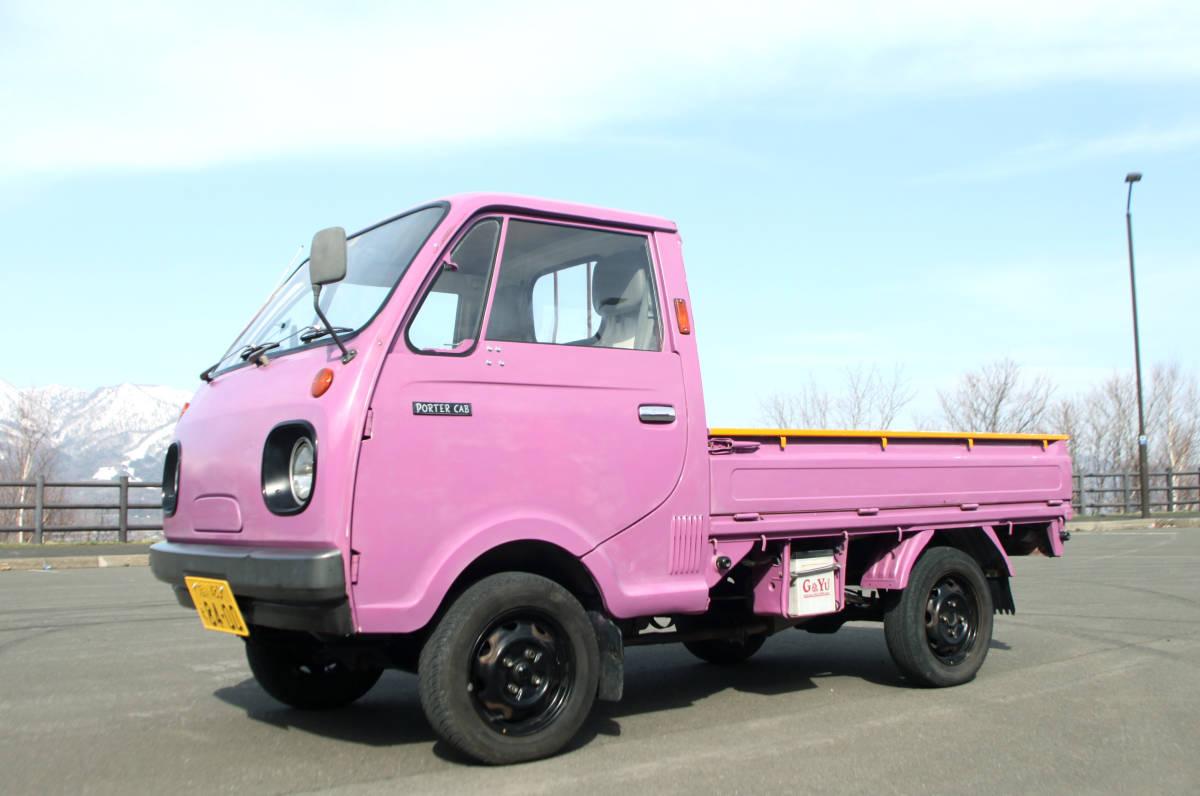 北海道 希少旧車 良車 S62 マツダ ポーターキャブ PC56T  車検あり エンジン快調 _画像2