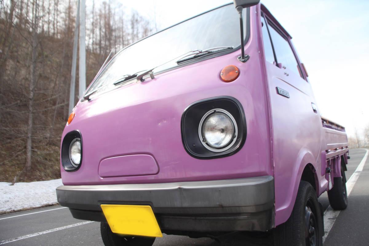 北海道 希少旧車 良車 S62 マツダ ポーターキャブ PC56T  車検あり エンジン快調