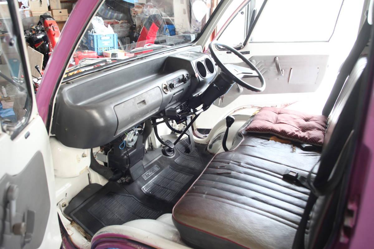北海道 希少旧車 良車 S62 マツダ ポーターキャブ PC56T  車検あり エンジン快調 _画像6