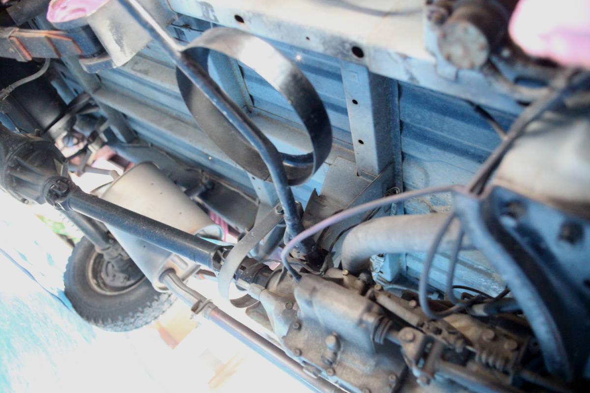 北海道 希少旧車 良車 S62 マツダ ポーターキャブ PC56T  車検あり エンジン快調 _画像9
