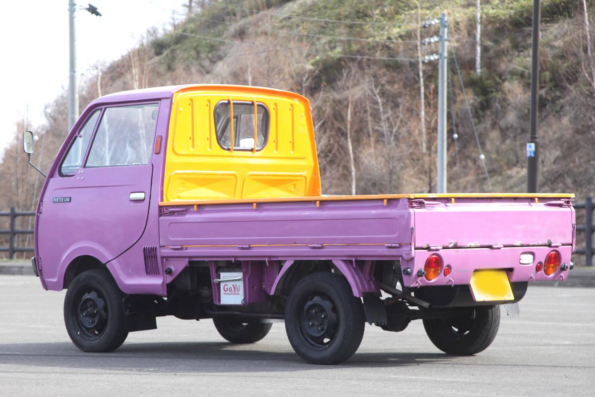 北海道 希少旧車 良車 S62 マツダ ポーターキャブ PC56T  車検あり エンジン快調 _画像3