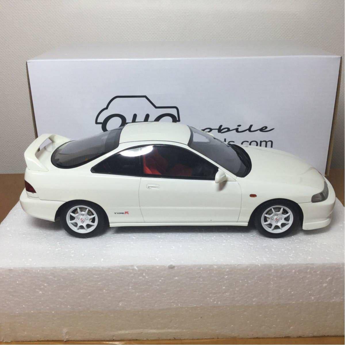 ☆レア 1/18 otto ホンダ インテグラ DC2 (ホワイト)タイプR / オットー モービル Honda TypeR OTM223 OttOmobile レジンモデル ☆_画像3