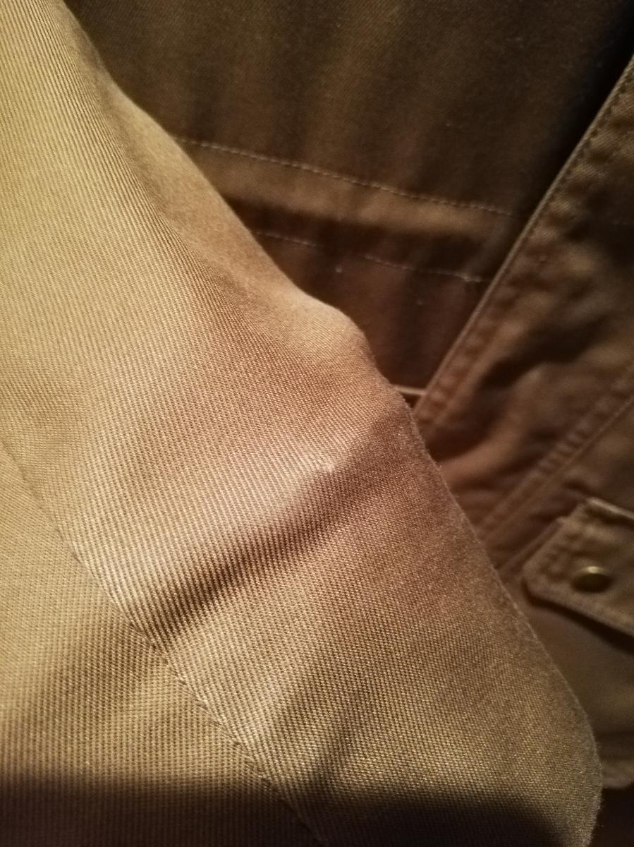 ディオールオム ミリタリー ジャケット コート 中綿入り 44 Dior homme_画像7