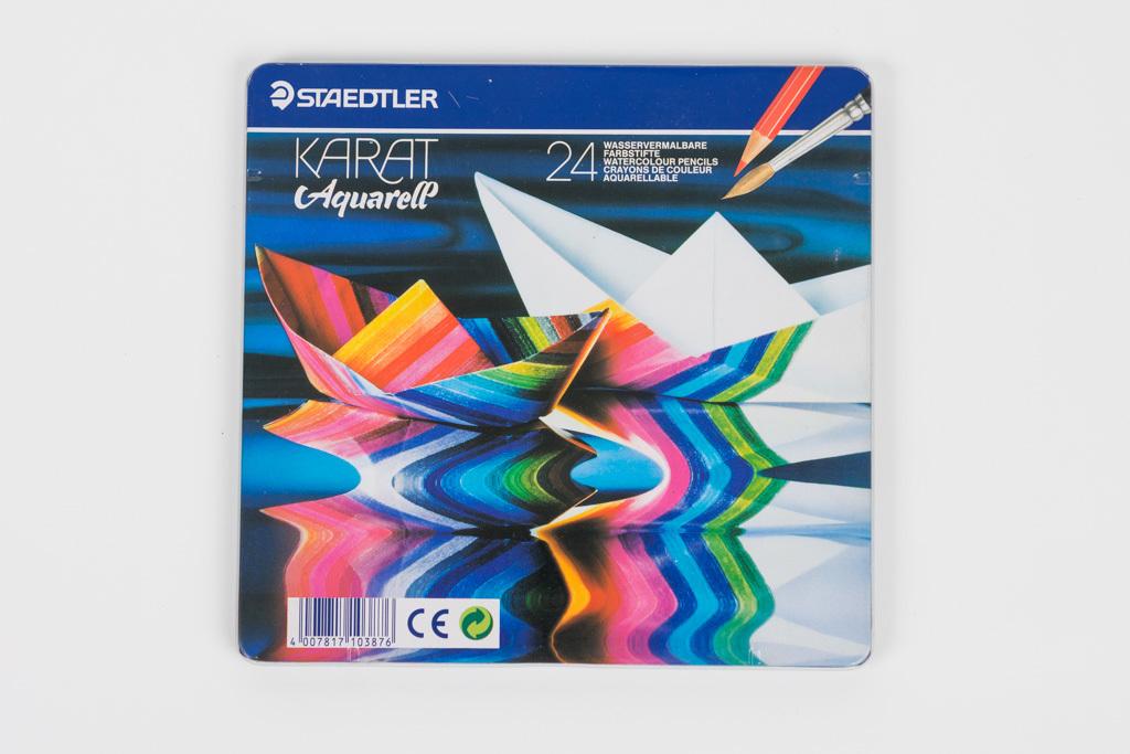 STAEDTLER KARAT Aquarell ステッドラー カラト アクェレル 水彩色鉛筆 24色 未使用品 色鉛筆
