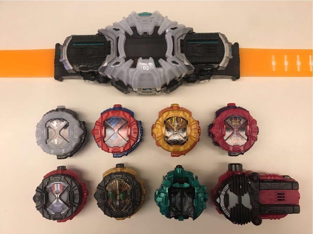 ☆仮面ライダージオウ 変身ベルト ライドウォッチ 8個セット 自作ケース付き☆