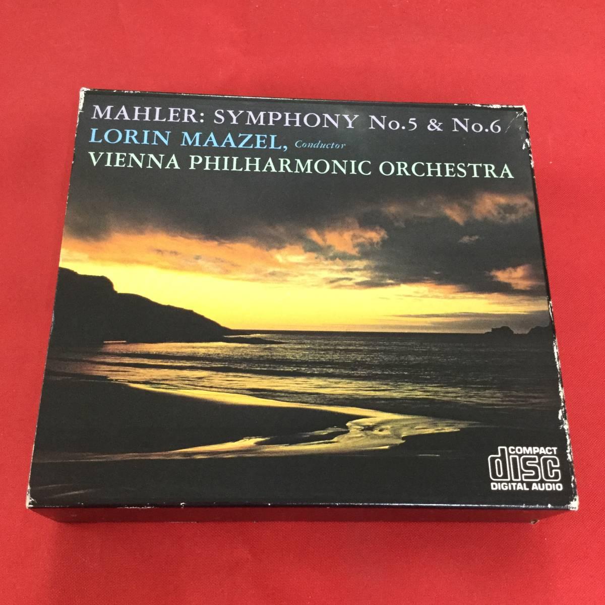 〇マゼール/マーラー、交響曲第5番&第6番/3CD、90DC 100~102_画像1