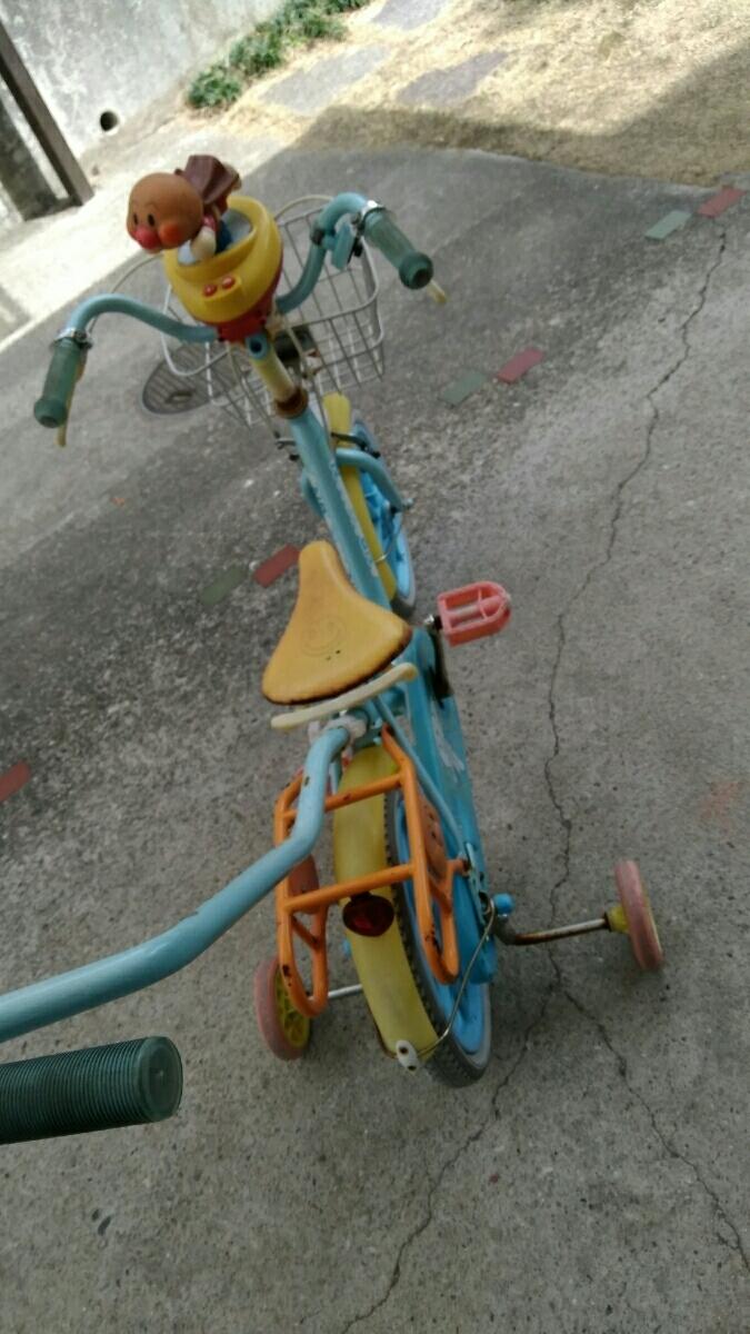 アンパンマン子供用自転車☆中古14インチ☆名古屋☆手渡し希望_画像2