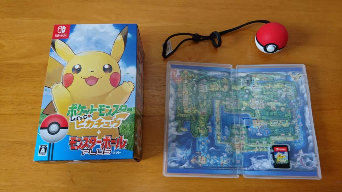 【中古】ポケットモンスター Let's Go! ピカチュウ モンスターボール Plusセット Nintendo Switch (欠品あり)_画像3