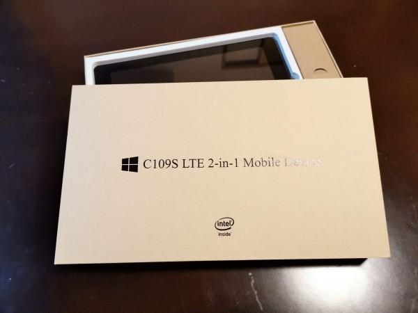 【1円スタート】SIMフリーWindows 2in1ノートパソコン C109S【日本メーカー】_画像2