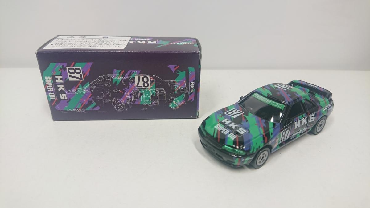 トミカ HKS 特注 スカイライン GT-R R32 グループA 1993 No.87 レーシング アイアイアド
