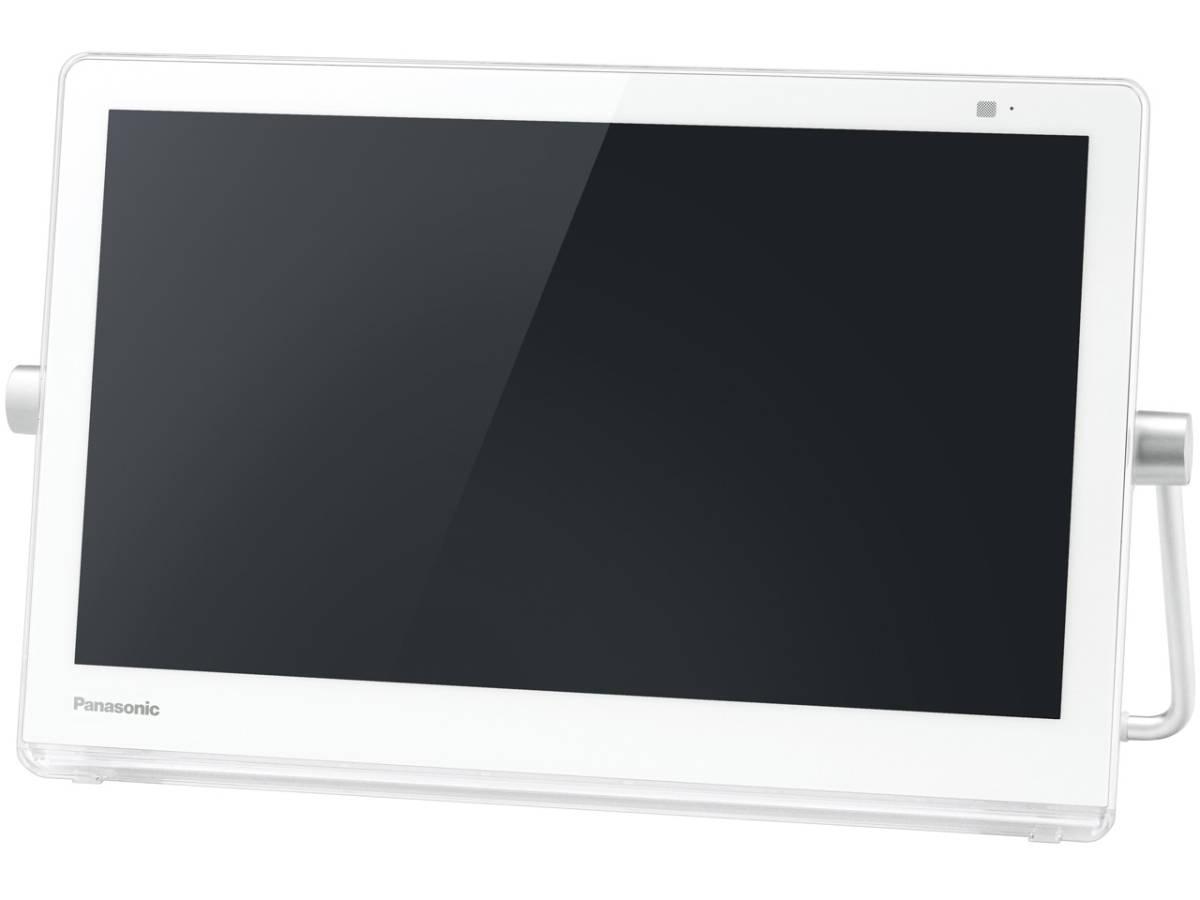 Panasonic ポータブルテレビ プライベート ビエラ UN-10T7-W(ホワイト)◆展示品_画像2