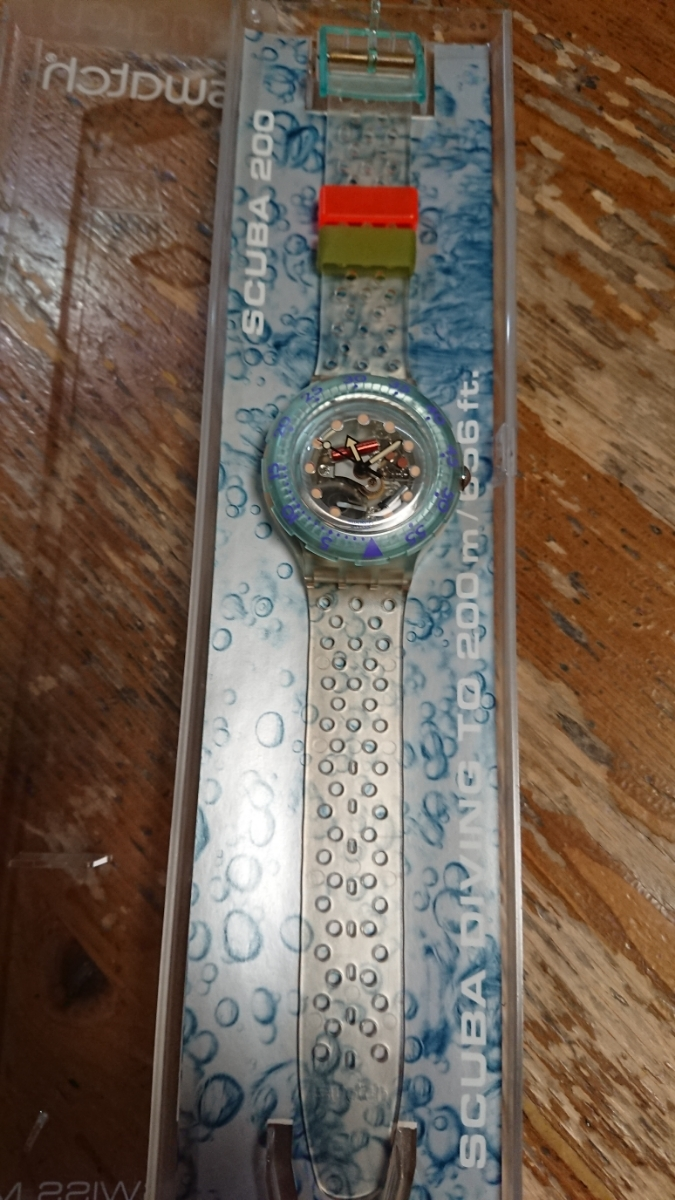 swatch 未使用10本まとめ売り SCUBA200、stop-watchセット_画像6