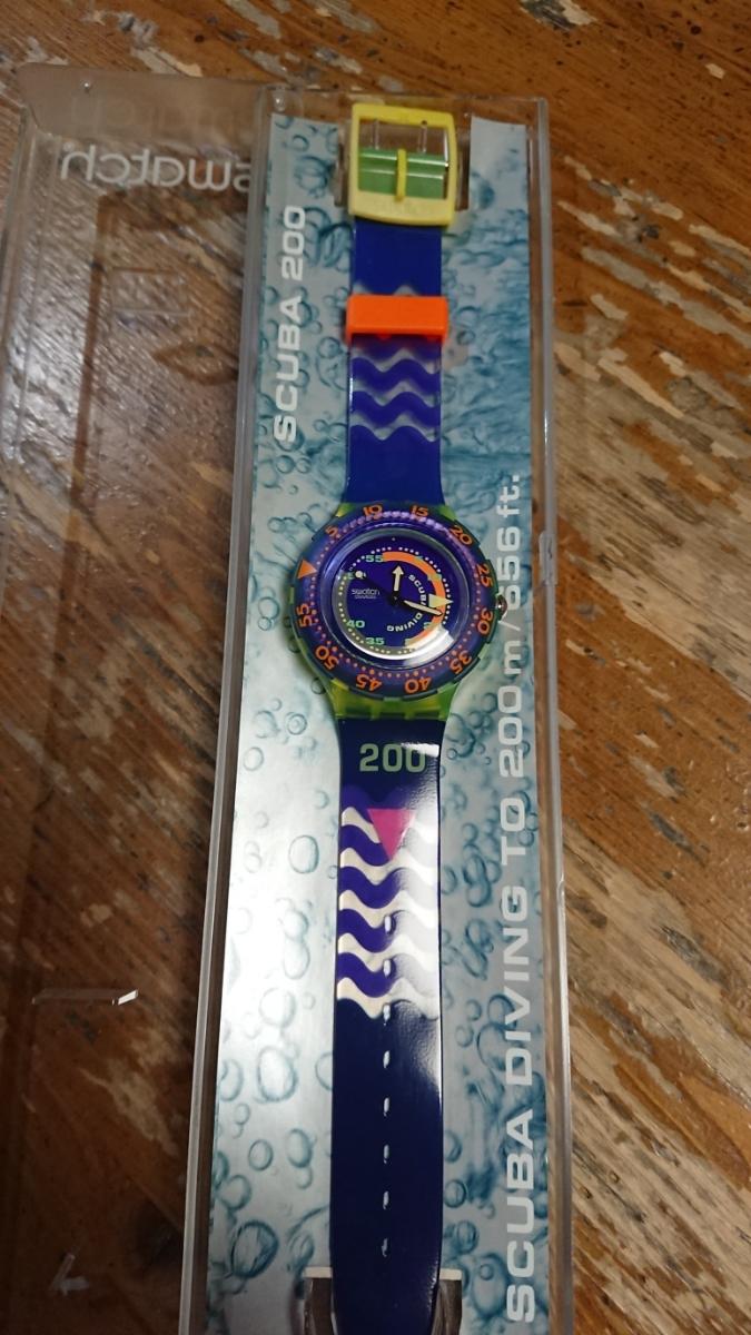swatch 未使用10本まとめ売り SCUBA200、stop-watchセット_画像4