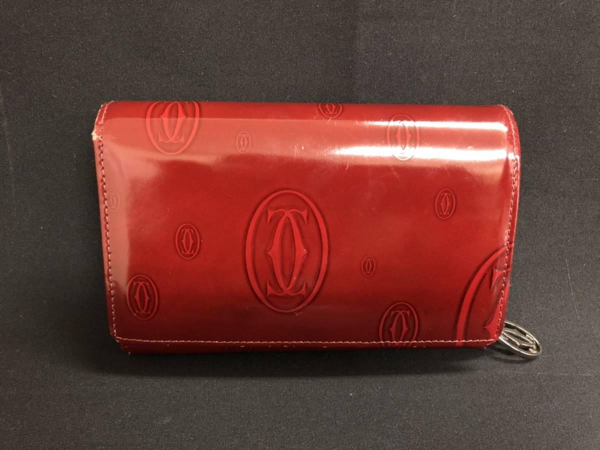 afcf7fe1b1d6 代購代標第一品牌 - 樂淘letao - A18d71R Cartier 財布 二つ折り 長財布 ハッピーバースデー カルティエ