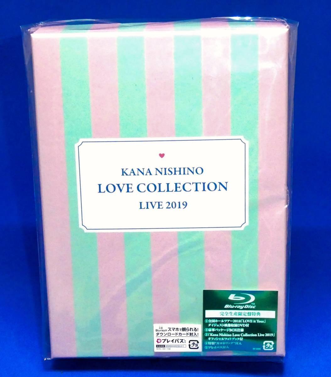 ■開封のみの新品未再生品■ 完全生産限定盤 西野カナ Kana Nishino Love Collection Live 2019 [Blu-ray]