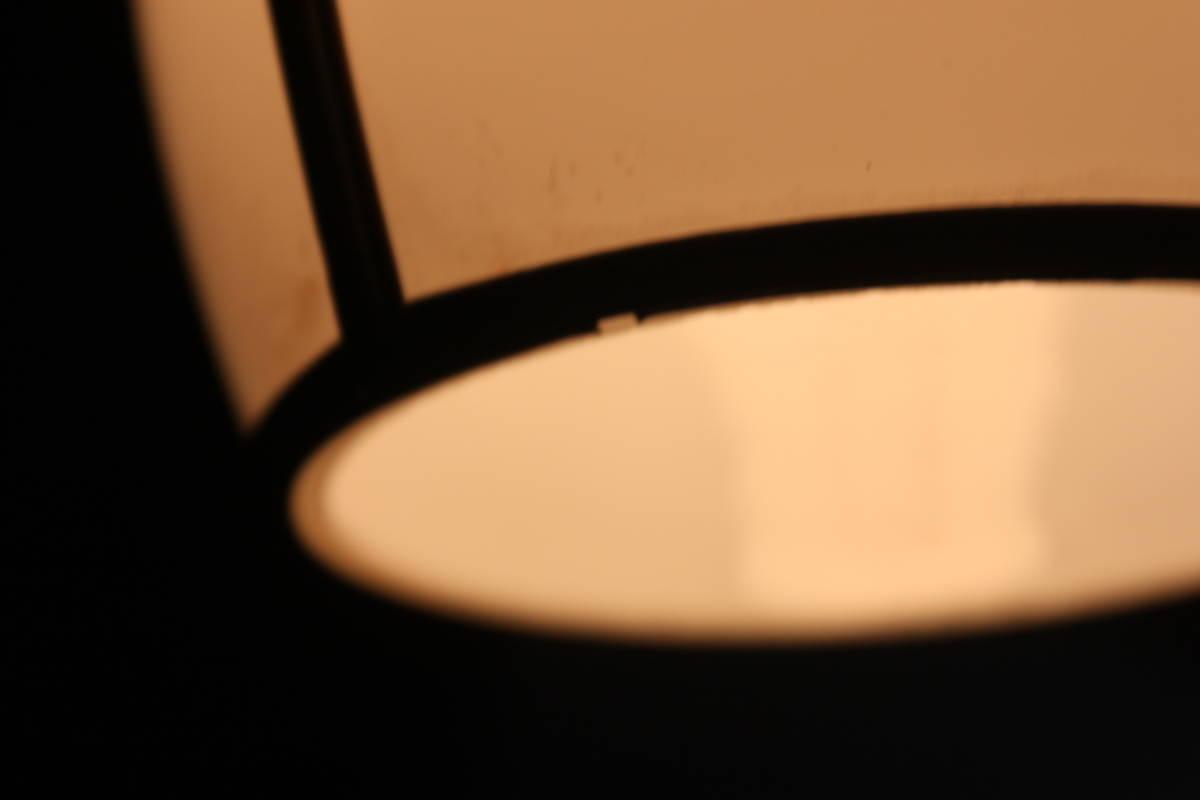 能登半島旧家より 大正レトロなセル枠照明 電笠 電傘 古民家 洋館 古道具 レトロ アンティーク _画像6