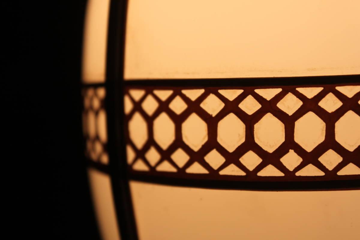 能登半島旧家より 大正レトロなセル枠照明 電笠 電傘 古民家 洋館 古道具 レトロ アンティーク _画像5