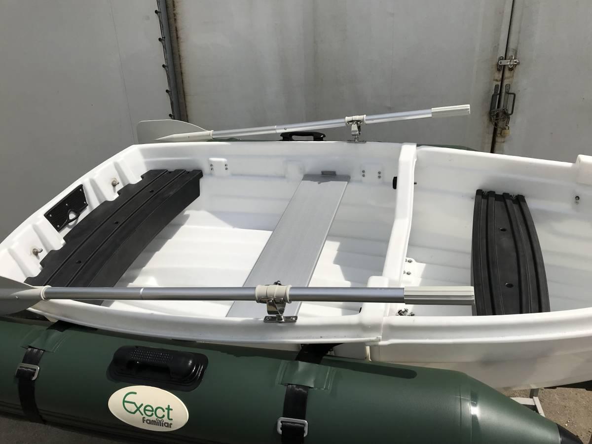 ○小型MINIボート用最適 ○最高品○高級SUS316 ステンレス クラッチ SET+アルミ合金耐酸性コーティング オール _ステンレスクラッチ&アルミオール取付例