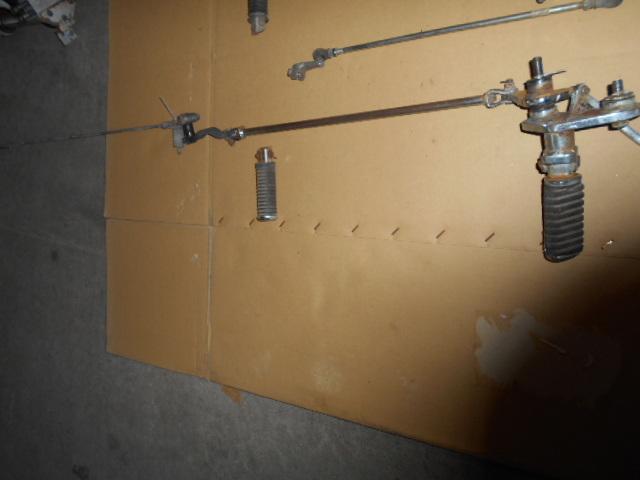 ホンダ スティード NC26 NV400CM ペタル、ステップ、スタンドのセット_画像2