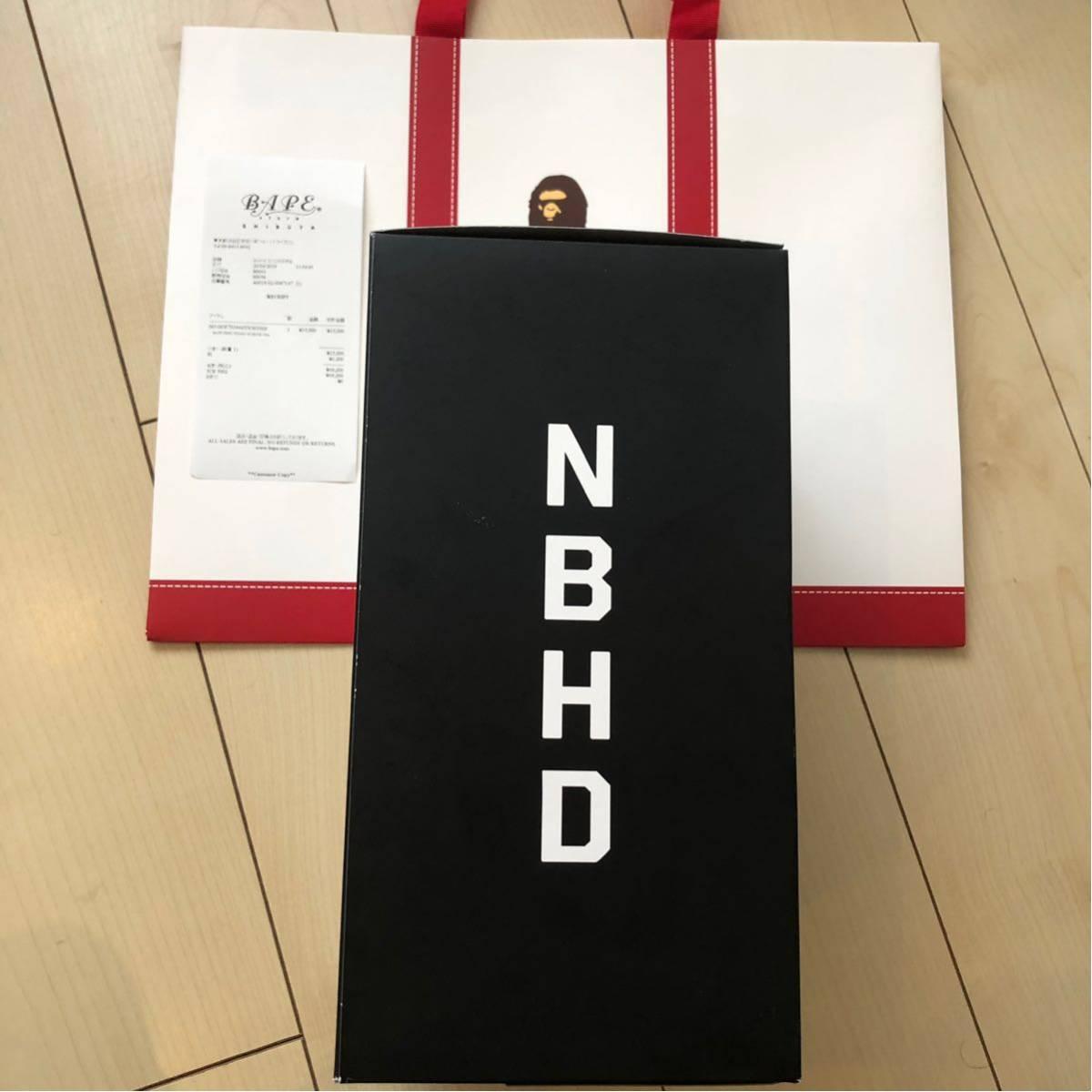 A BATHING APE BAPE × NBHD SHARK INCENSE CHAMBER White ネイバーフッド チャンバー 2019SS お香立て シャークパーカー 白 フーディー_画像8