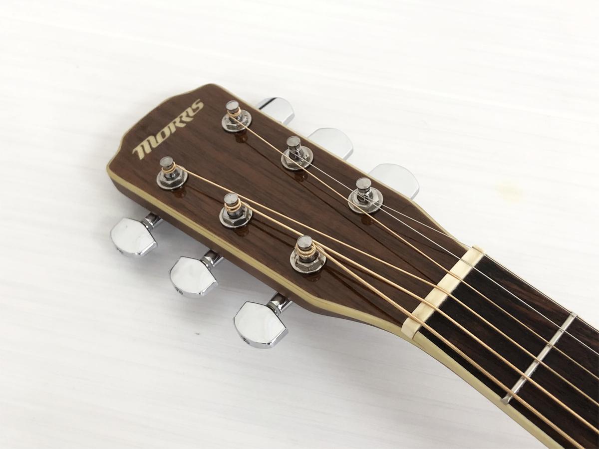 Morris MR401 N エレアコ モーリス アコースティックギター アコギ_画像4