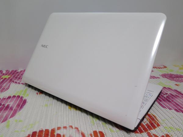 タッチ式【最新Windows10★爆速新SSD480GB】 NEC LS200/J ホワイト 高速CPU(Sandy Bridge) ★ メモリ4GB Wi-Fi HDMI Office2016_画像3