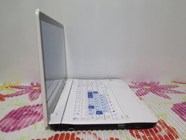 タッチ式【最新Windows10★爆速新SSD480GB】 NEC LS200/J ホワイト 高速CPU(Sandy Bridge) ★ メモリ4GB Wi-Fi HDMI Office2016_画像4